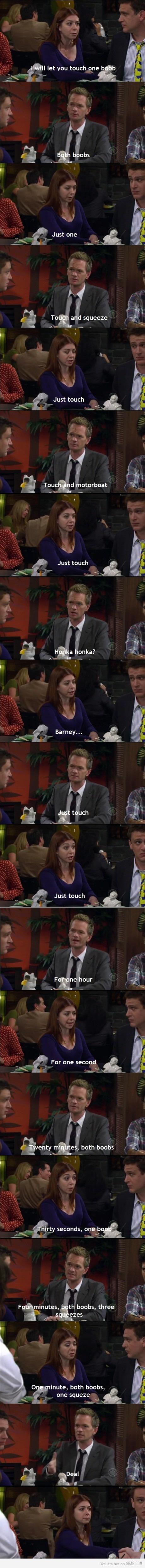 Making business LVL: Barney Stinson