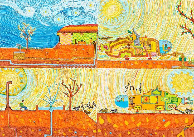 Friend for Life, My Music Car - Melih Sahin | Toyota Dream Car Art Contest