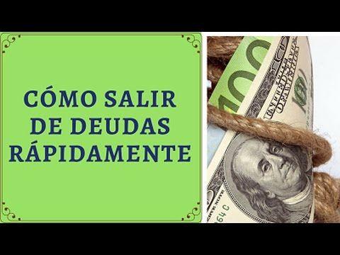 CÓMO SALIR DE DEUDAS RÁPIDAMENTE - 3 Poderosos Recursos - YouTube