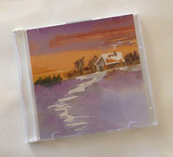 Tiny-Art-Box  Chalet  Aidez-moi à donner au par ManonJodoinStudio