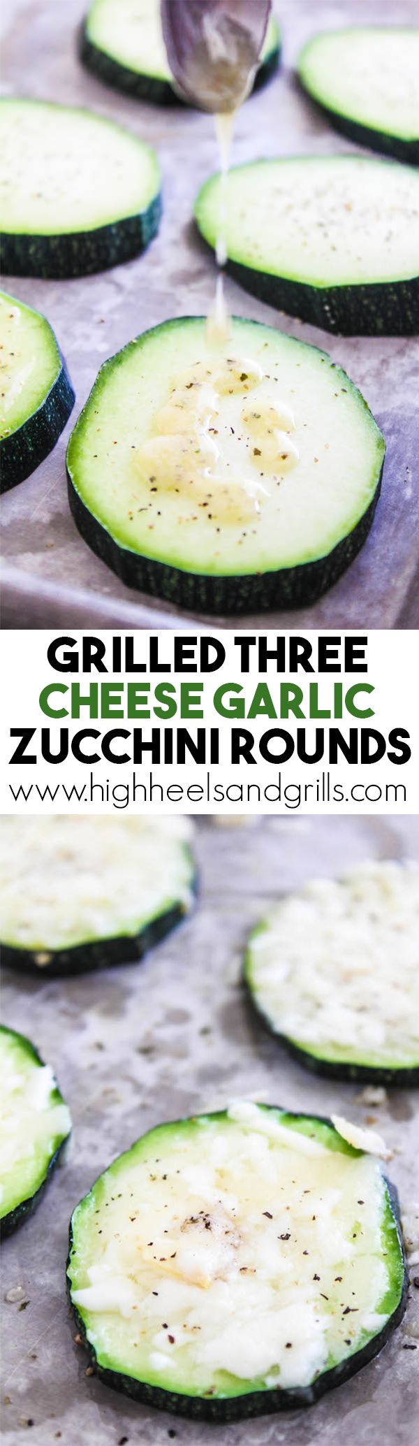 Three Cheese Garlic Zucchini Rounds are the only way to eat zucchini ...