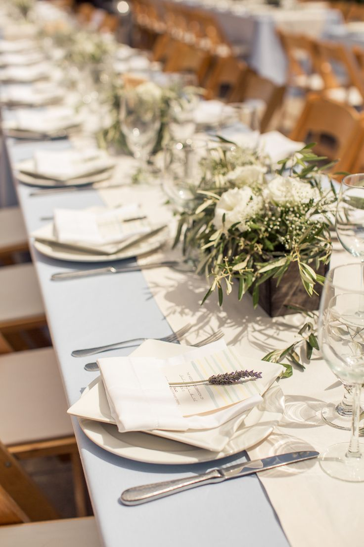 Wedding Tables | Rustic Elegance at Holman Ranch | See the wedding on #SMP Weddings: http://www.stylemepretty.com/little-black-book-blog/2013/12/26/holman-ranch-wedding/  Photography: Carlie Statsky Photography