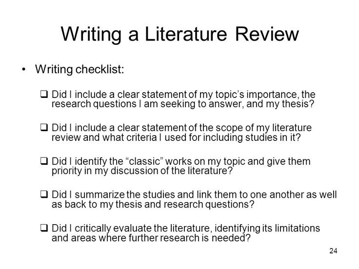 Thesis In Literature Review  Best Opinion  Essay Helper