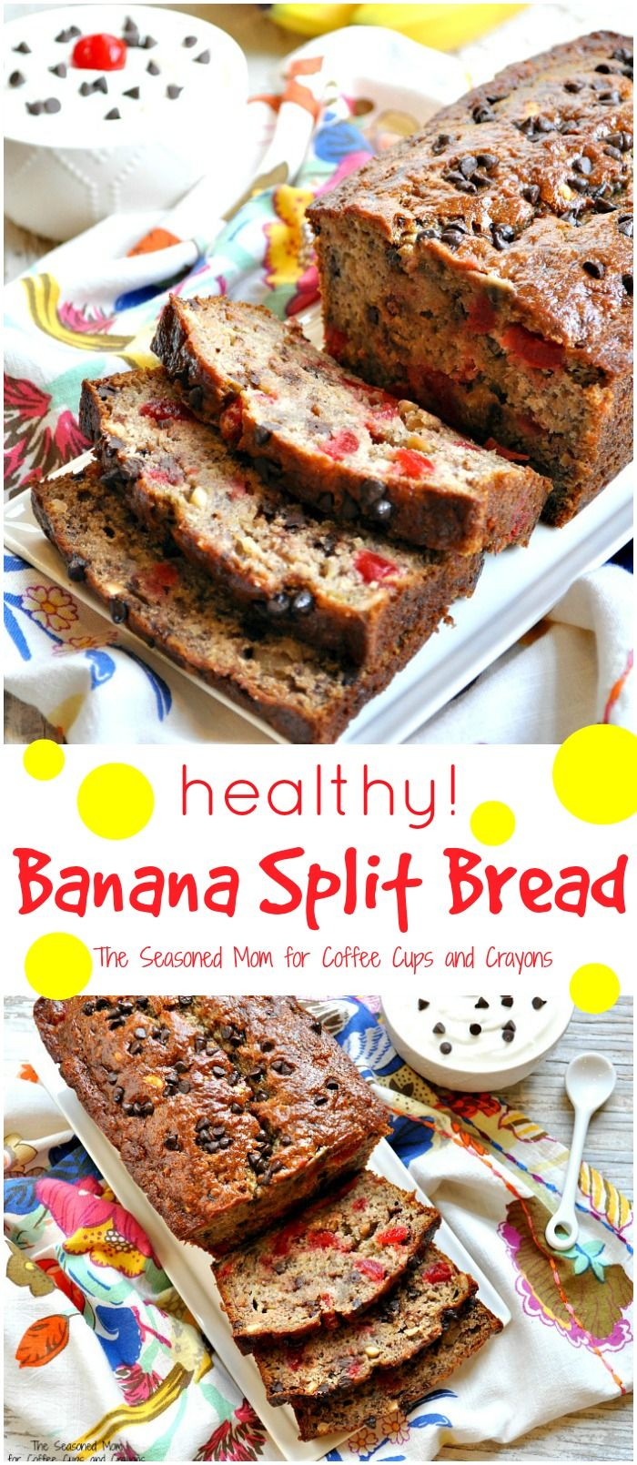 All of the delicious components of your favorite Banana Split dessert in one healthy breakfast, snack, or light treat! It's an easy make-ahead option that the entire family will love.