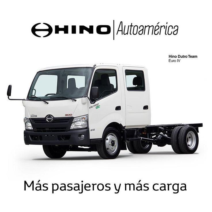 El #HinoDutroTeam es el camión ideal para ti y tu equipo de trabajo: doble cabina, más pasajeros y ¡más carga! Podrás llevar hasta 3 toneladas. Date la oportunidad de conocerlo en una prueba de ruta en #Autoamérica https://goo.gl/842uOr