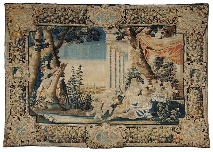 tapisserie paris mitte 17 jh rinaldo in den armen von armida viertes bild aus der serie