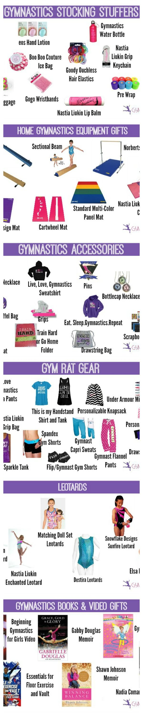 the ULTIMATE Gymnast Gift Guide