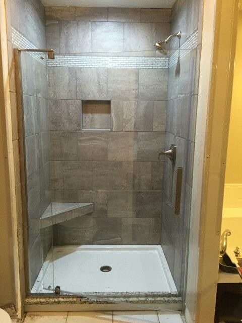 Skyros Gray 12 X12 Better Bench Corner Seat Kohler Revel Door Dreamline Slimline 48x36 Acrylic Shower Base Labor And Design