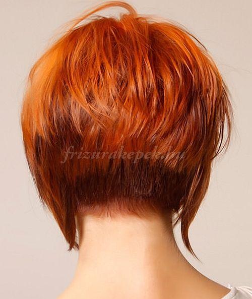 bubifrizurák, bubi frizurák - hátul rövidre vágott bubifrizura