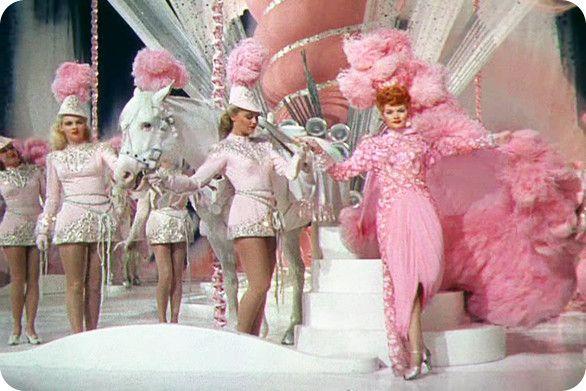 Lucille Ball in Ziegfeld Follies. Drool.