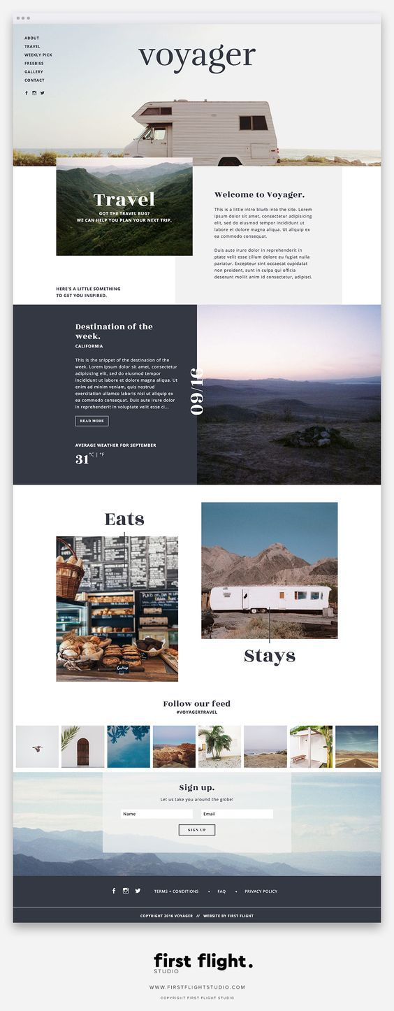 575 best design and typography images on pinterest design 20 off a damn fine website template thats easy to use just type fandeluxe Gallery
