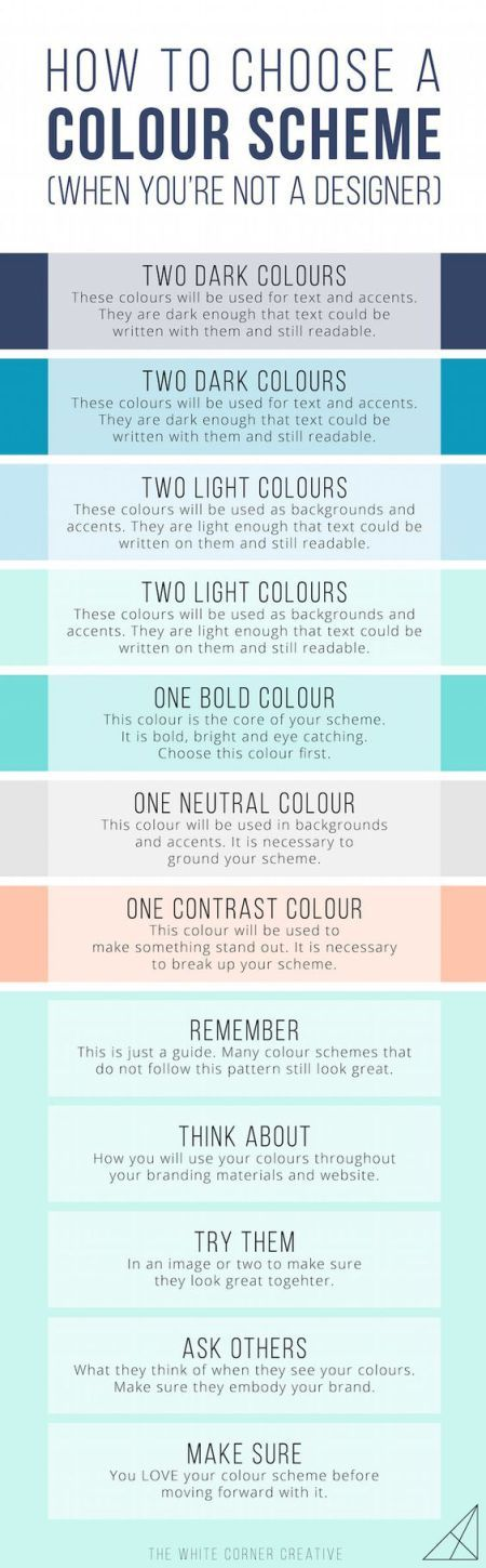 How to choose a color scheme #ColorScheme #ColorPalette #ColorInspiration #DesignTips