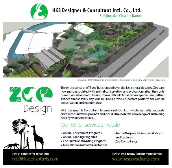 We at HKS Designer & Consultant provides the Zoo Designing and Master Planing Development Services.... zoodesign read more: http://www.hksconsultants.com/zoos.html
