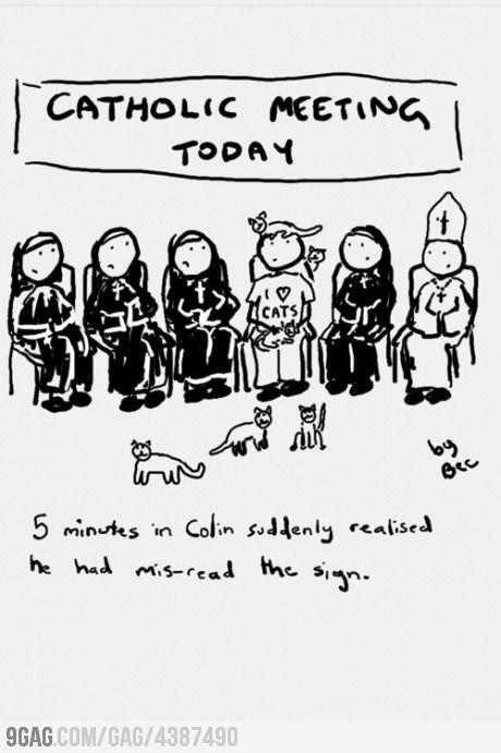 Cat-holic Meeting