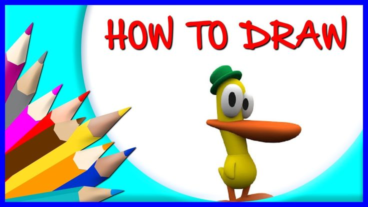 How to Draw Pato  | Drawing Time Lapse | 853672 HTD