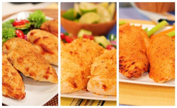 Three cheesy chicken recipes from Kevin & Amanda from the Hellman's contest. Can't wait to try them!