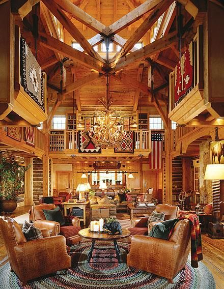Ralph Lauren's home-Kevin Corn...Now this is a cabin!