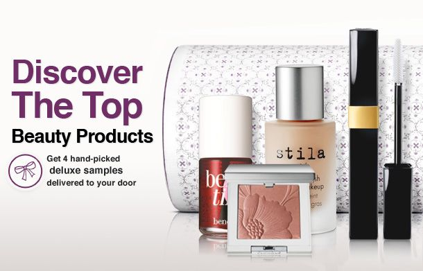 TOPBOX | Luxe beauty samples delivered to you in a beautiful box each month.