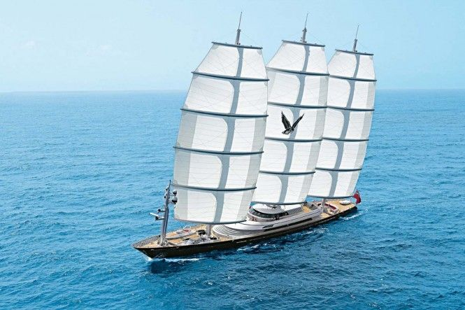 Feature Superyacht 'Maltese Falcon' Available for Charter