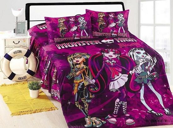 Monster High Bedroom Set Ideas