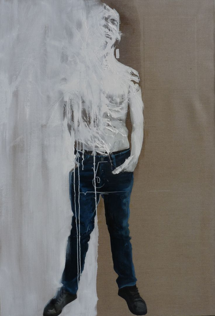 591 INO ONI VINCENT  Huile sur toile (89x130(2012)