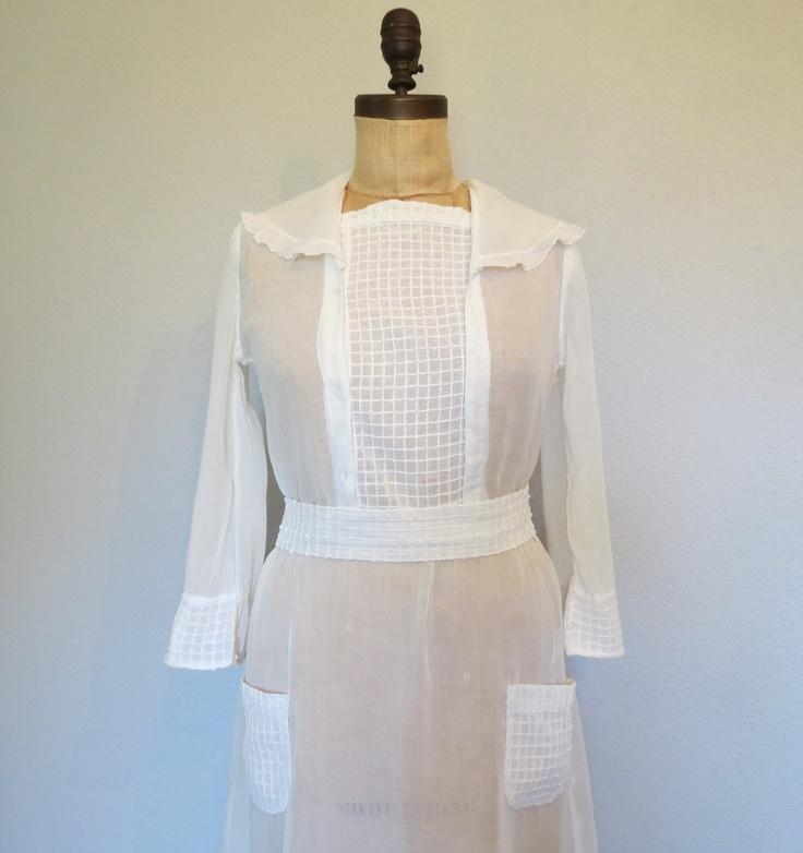 Edwardian dress size medium / Edwardian Tea Dress.