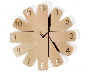Orologio Orollo in cartone - Cardboard orollo clock www.ofeliatuttotorna.com