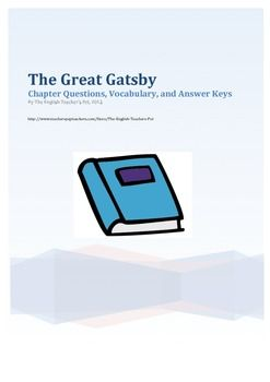 an character analysis of nick carroway in the great gatsby by f scott fitzgerald Great gatsby character analysis: nick carraway essay great gatsby character analysis: nick  so writes nick carraway in f scott fitzgerald's the great gatsby,.