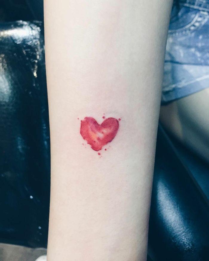 ▷ 1001 + ideas de diseños de tatuajes de corazones | Small tattoos, Tattoos, Tattoo designs
