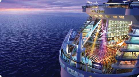RC's Allure of the Seas... Hope to be cruising soon!
