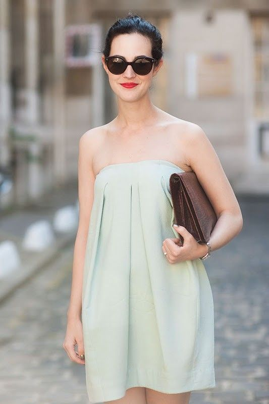 .: Summer Dress, Color, Fashion Week, Street Style, Simple, Than, Outfit, Dresses