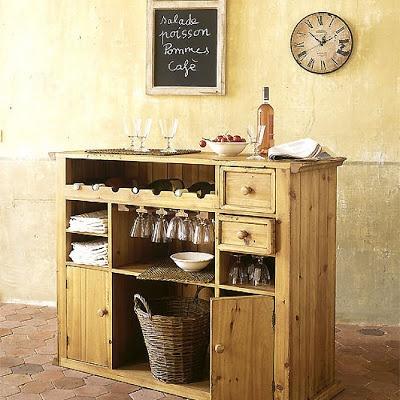 El mueble bar perfecto ideas simples para decorar este for Ideas para decorar tu casa