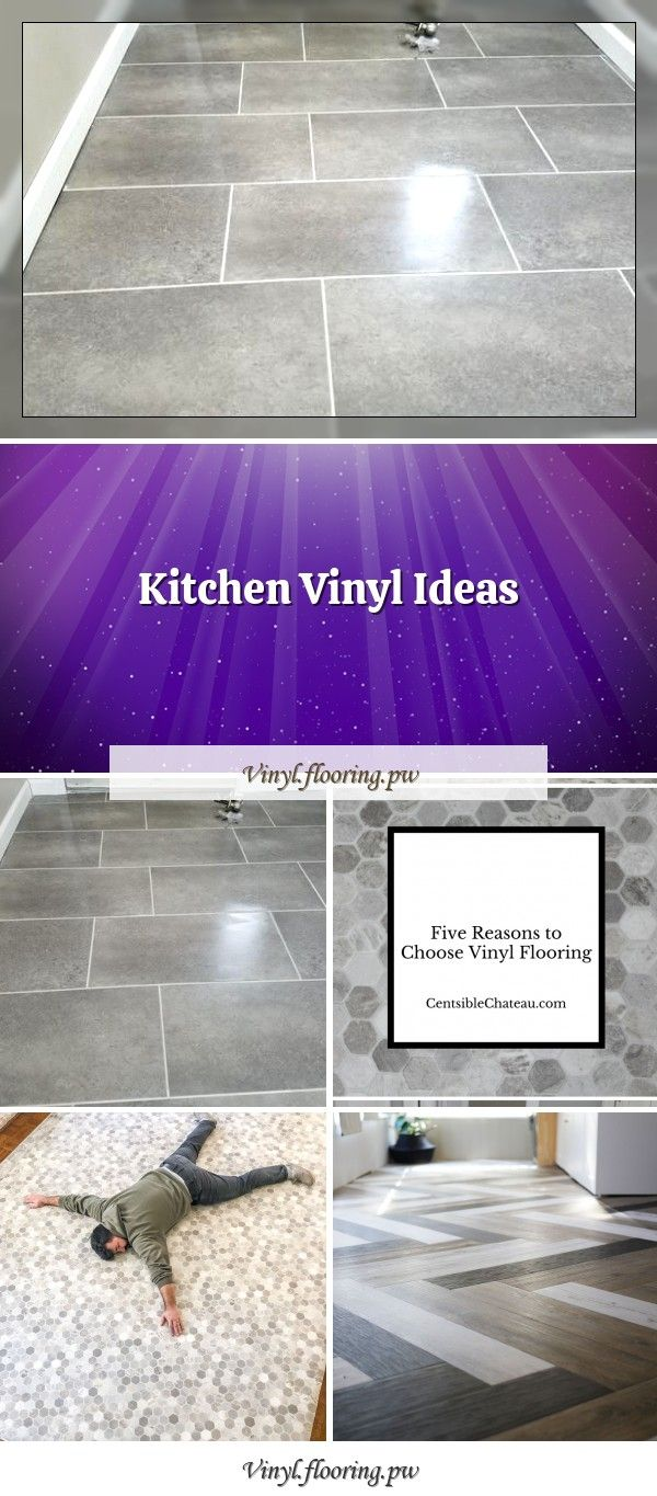 We Laid Vinyl Floors For The First Time And Five Surprising We Installed Vinyl Floors For The First Time And Discovered F In 2020 Kitchen Vinyl Vinyl Flooring Vinyl