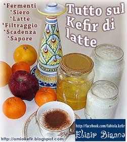 Alimentazione naturale con il Kefir di latte prodotto in casa