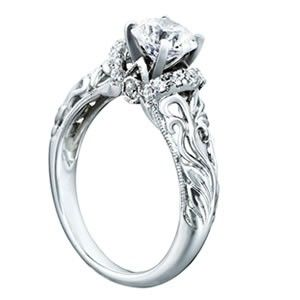 161 best Diamond Rings images on Pinterest Diamond rings Diamond