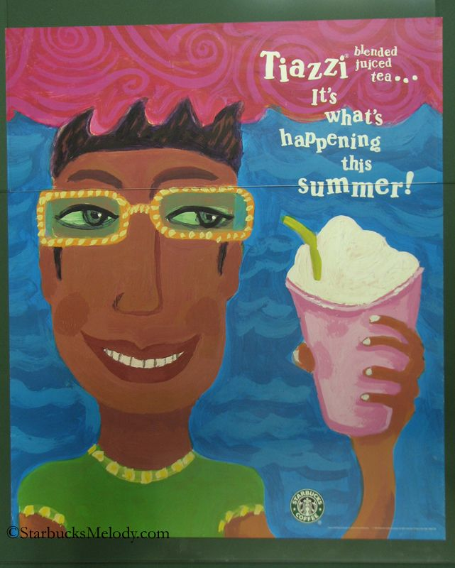 Tiazzi Blended Tea Beverage: A Starbucks history lesson from 1998 – 1999