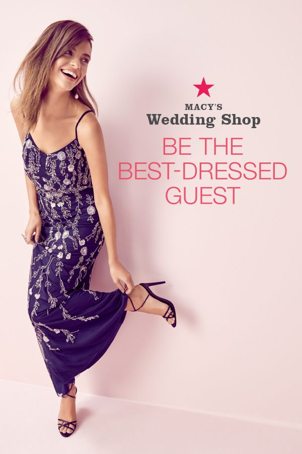 Have a wedding on the calendar but nothing to wear? Macy's Wedding Shop has your back. Find the right look no matter the dress code. Whether they're cocktail, formal, or semi-formal vows, we have a pretty little number for it. Shop now!