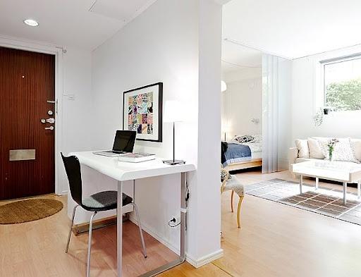 Dekorasi Cermat pada Apartemen Kecil