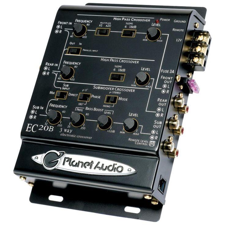 Electronics Technology Active Crossover Circuit Split The Audio