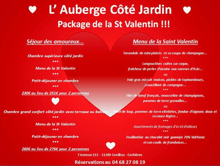 Package St Valentin 2018