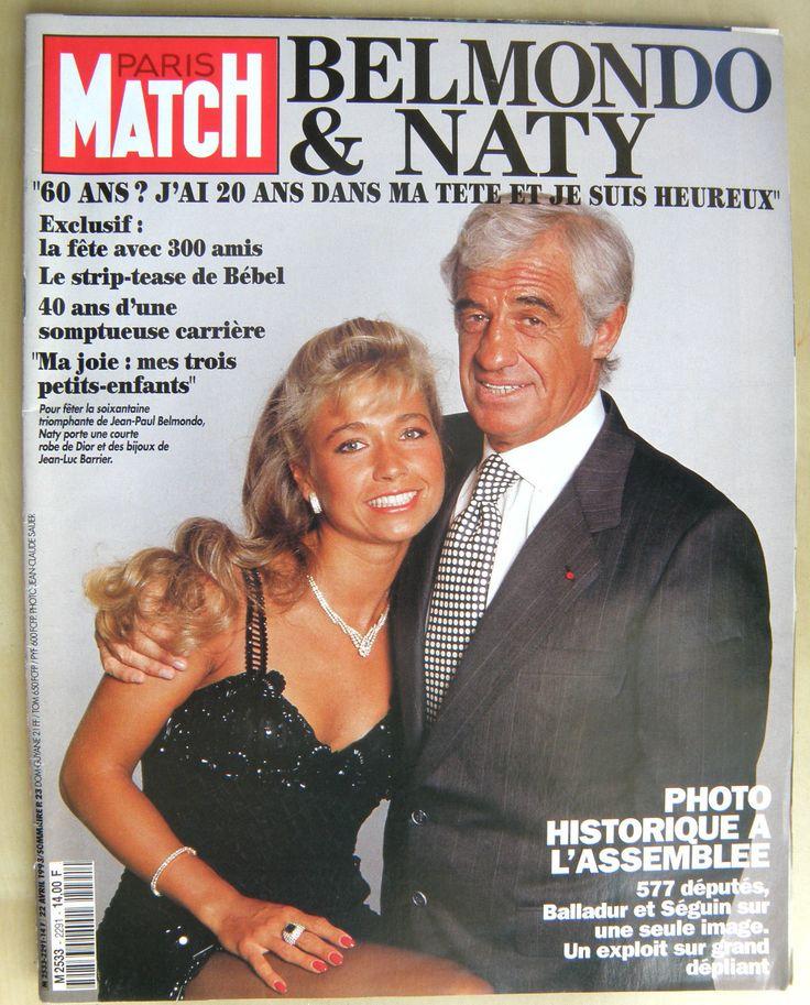 Natty Belmondo et Jean-Paul Belmondo | Femmes en ...
