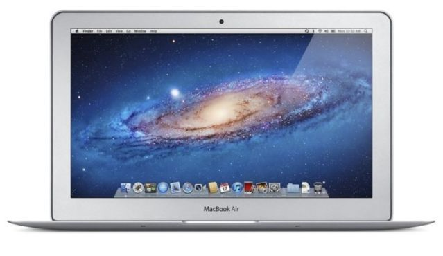 Apple Macbook Air with 11 inch screen. Intel Core i5 1.6GHz DC, 4GB RAM, 128GB SSD