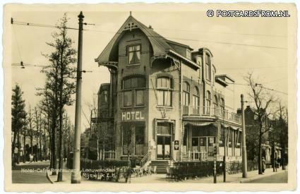 Rijswijk ZH, Hotel-Cafe-Rest. 'Leeuwendaal', Haagweg 121
