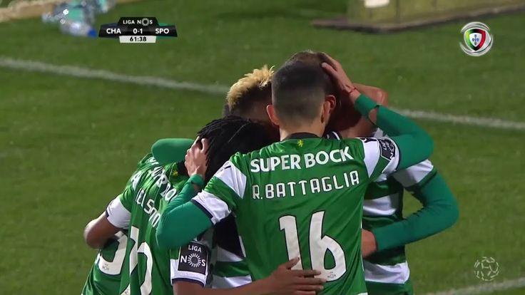 Chaves 0-(1) Sporting (Liga 26ªJ): Golo de Bas Dost