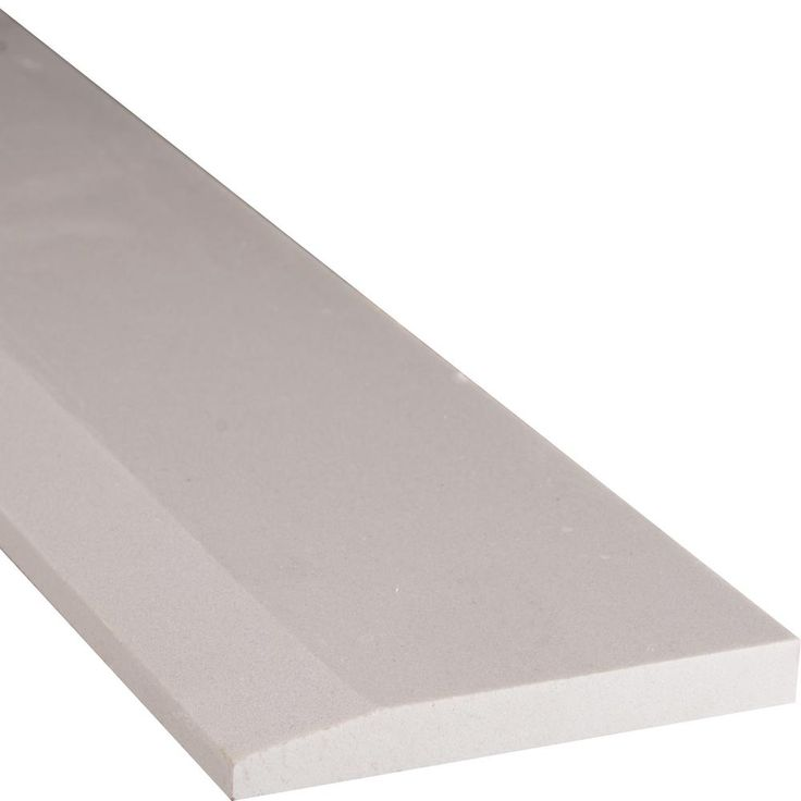 MS International White Hollywood Style 5 in. x 30 in. Engineered Marble Threshold Floor and Wall Tile-THD2WH5X30SHL - The Home Depot