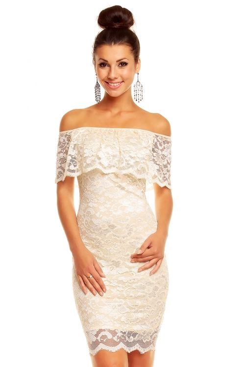 Luxusní krajkové šaty