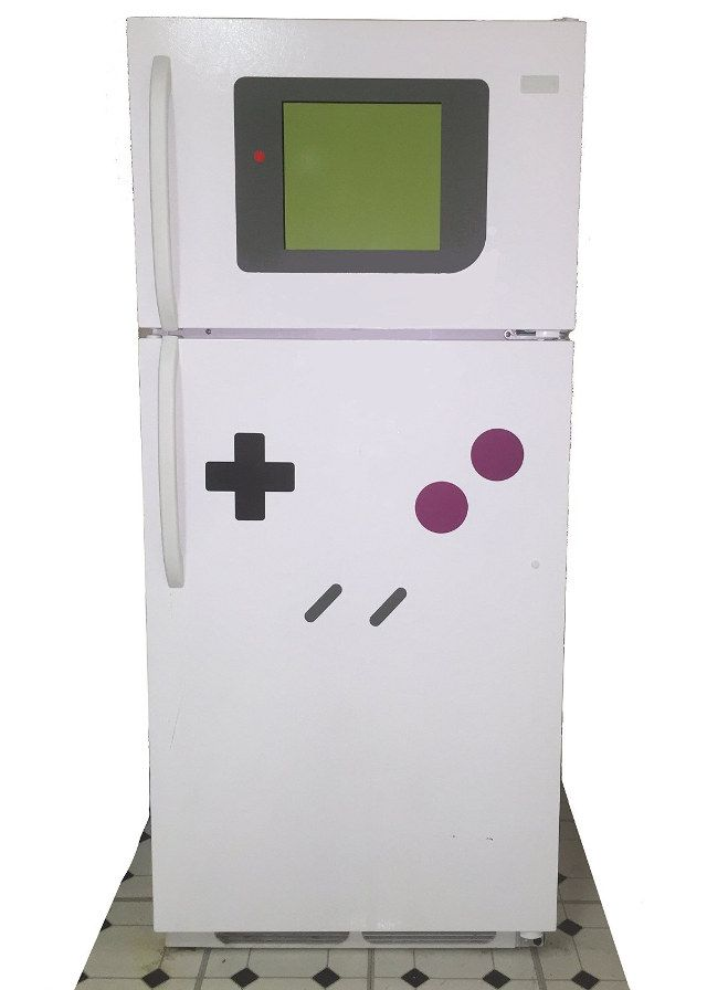 Come on -- Samsung doesn't make Game Boys! FreezerBoy is a $20 set of refrigerator magnets that make your fridge look like a giant Game Boy. They also work on washers/dryers. Plus cars made out of metal. My car?...