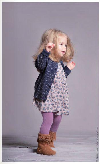 Tenue automnale #purple #fashion #kids