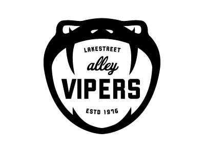 Mpls Bike Gangs / LAKESTREET ALLEY VIPERS by Allan Peters