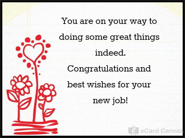 You are on your way to doing some great things indeed. Congratulations and best wishes for your new job!